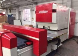 Nisshinbo CNC Turret Punch Press HIQ-1250