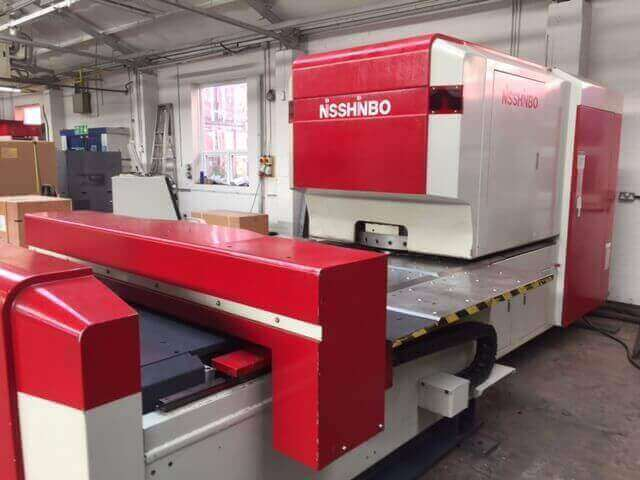 Nisshinbo CNC Turret Punch Press HIQ-1250